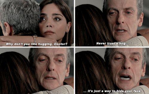 Never Trust A Hug